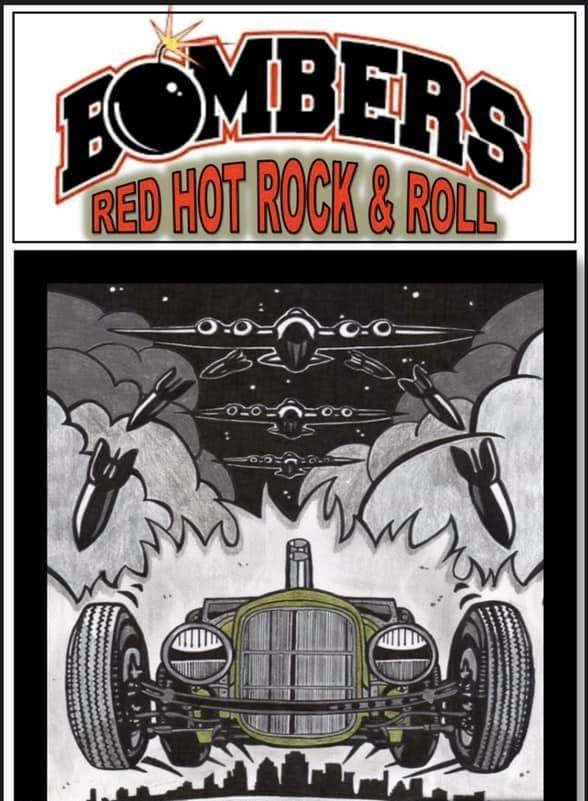 This years new comers are a talented local group that are no strangers to the stage. The Bombers are a blue collar band that play straight up rock n' roll that'll keep your party rockin' at the Langley Good Times Cruise-In, happening Sept. 11. 2021 in Aldergrove. (Cruise-In/Special to Langley Advance Times)